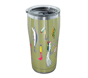 Tervis Stainless Steel Fishing Lure 20-oz. Tumbler- Back40Trading2