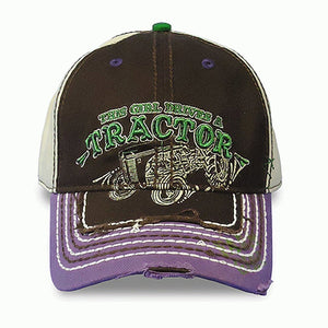 Farm Girl Tractor Hat - Back40Trading2