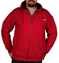 Case IH Men's Sherpa-Lined Embroidered Logo Hoodie - Back40Trading2  - 3