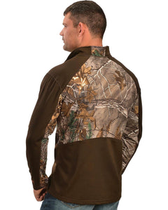 Browning Men's 1/4 Camo Zip Pullover - Back40Trading2  - 2