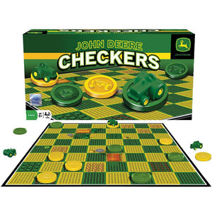 MasterPieces Puzzle Company John Deere Classic Checkers Board Game - Back40Trading2