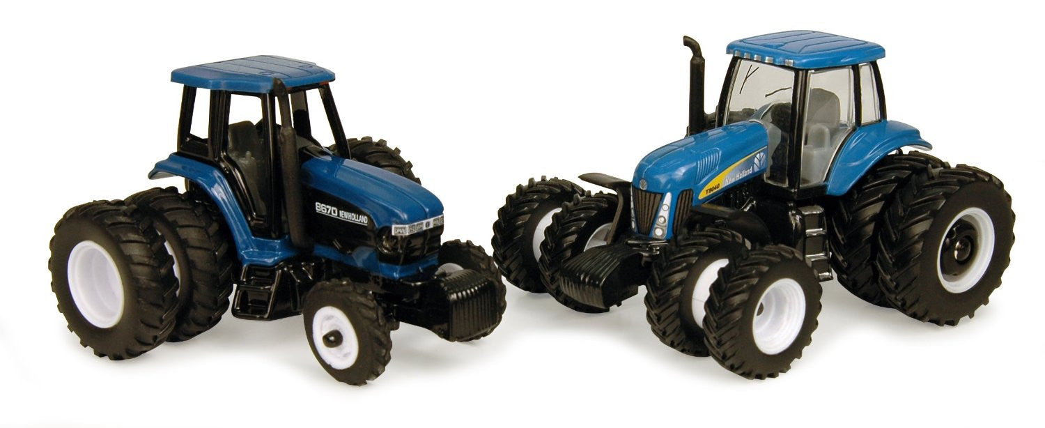 Learning Curve Brands 1:64 New Holland 8670 and T8040 Tractor Set - Back40Trading2