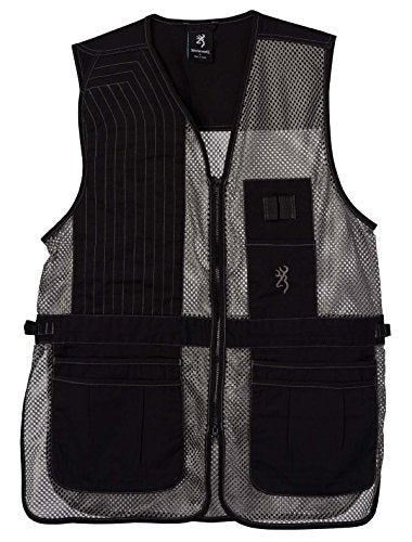 Browning Trapper Creek Shooting Vest-Gray - back40trading2 - 1