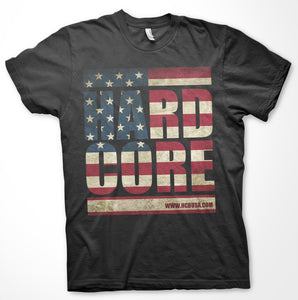 Hard Core Brands 'Merica T-Shirt Black/Gray - Back40Trading2