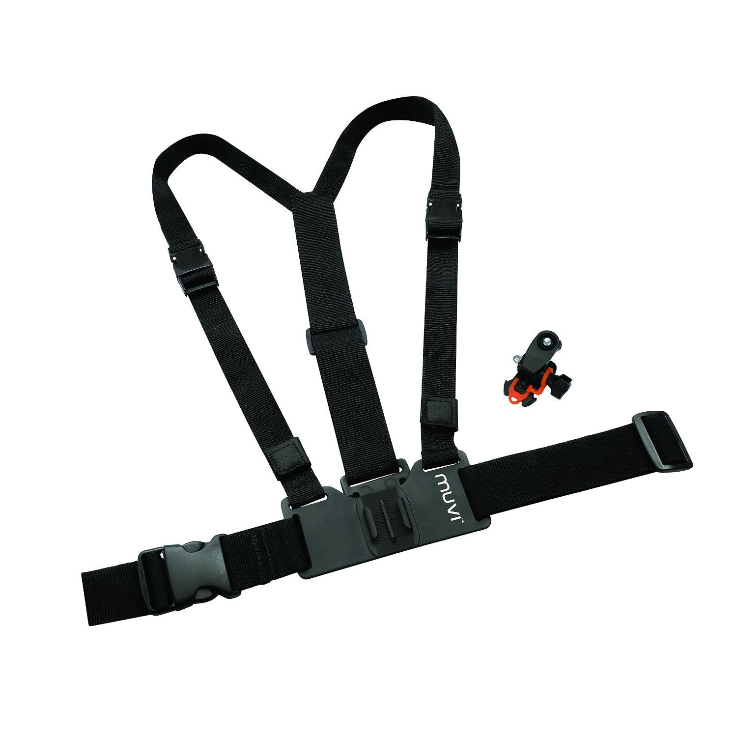 Veho VCC-A016-HSM Chest/Body Harness for MUVI HD with MUVI HD holder and tripod mount - Back40Trading2