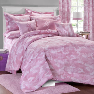 Buckmark Camo Pink Square Pillow Overall - Back40Trading2  - 1