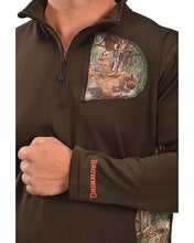 Browning Men's 1/4 Camo Zip Pullover - Back40Trading2  - 3