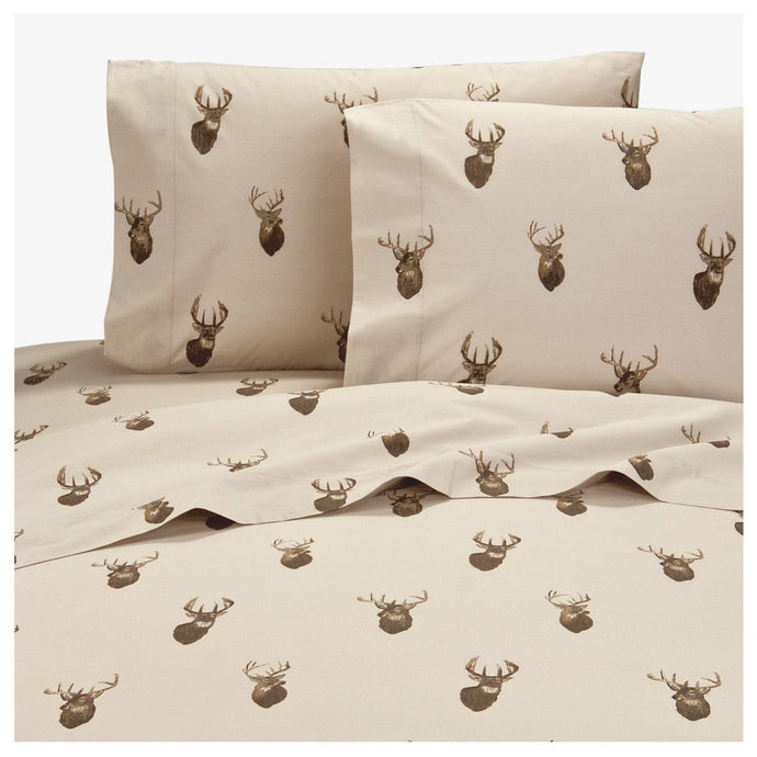 Browning Whitetails Sheet Set  King - Back40Trading2