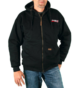 Case IH Men's Sherpa-Lined Embroidered Logo Hoodie - Back40Trading2  - 1
