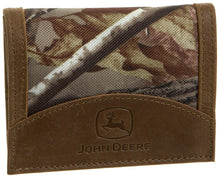 John Deere Mens Tri Fold Wallet In Gift Box - Back40Trading2  - 1