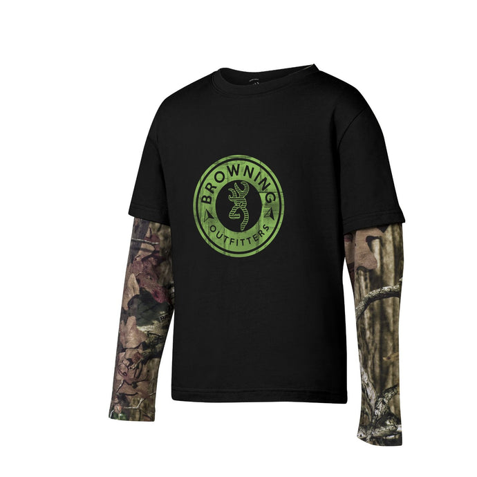 Browning Youth Ryder Tee Black - Back40Trading2