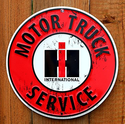 International Harvester Motor Truck Service Sign - Back40Trading2