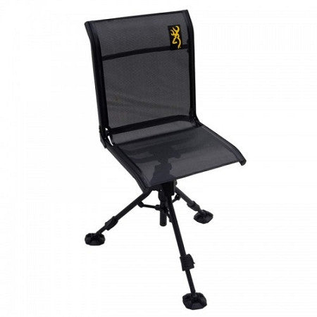 Browning Camping Shadow Hunter Blind Chair Seat Black - Back40Trading2