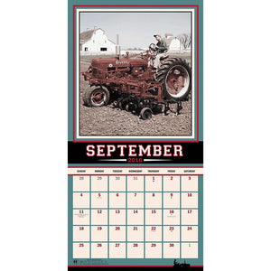 Farmall 2016 Wall Calendar by Trends International - Back40Trading2  - 4