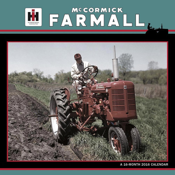 Farmall 2016 Wall Calendar by Trends International - Back40Trading2  - 1