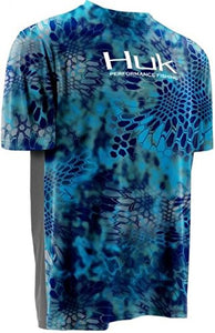 Huk Men's Kryptek Icon Short Sleeve Fishing Shirt, H1200024- back40trading2 - 13