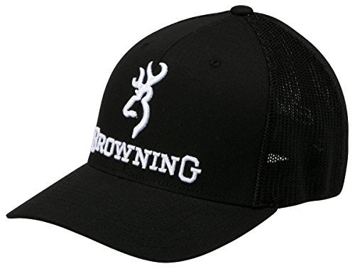 Browning Branded Cap-Black-back40trading2