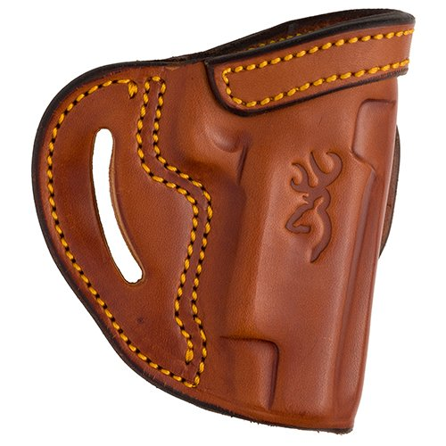 Browning 12904013 Leather Holster, 1911-22/1911-380, Belt Loop Open Top, Tan, Pistol
