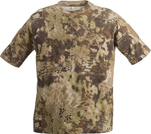 Kryptek Men's Stalker T-Shirt Short Sleeve Cotton Highlander Camo-back40trading2 - 4