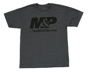 M&P by Smith & Wesson Men's Logo Charcoal T-Shirt - Back40Trading2