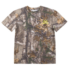 Realtree Men's Neon Green Logo Xtra® Camo Short Sleeved T-Shirt - Back40Trading2  - 2