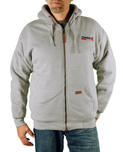 Case IH Men's Sherpa-Lined Embroidered Logo Hoodie - Back40Trading2  - 5
