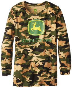 John Deere Big Boys' Long Sleeve Tee - Back40Trading2