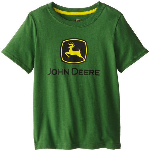 John Deere Little Boys' Front Logo Short Sleeve Tee - Back40Trading2