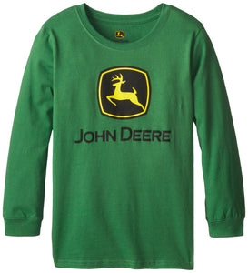 John Deere Big Boys' Logo Long Sleeve Tee - Back40Trading2