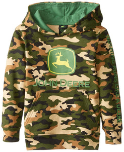 John Deere Little Boys' Trademark Fleece Camo Child - Back40Trading2
