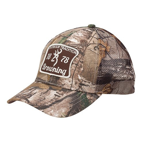 Browning 308172241 Cap, Outdoor Tradition, Realtree Xtra- Back40Trading2
