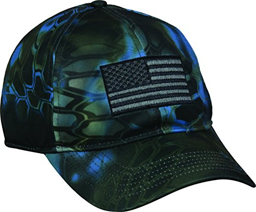 Outdoor Cap Mens Kryptek Patriotic Cap, Kryptek Neptune, One Size Fits Most- back40trading2