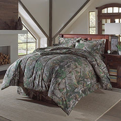 Realtree Xtra Green Camo Camouflage Comforter King(Sheets sold separately) - Back40Trading2