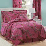 Realtree All Purpose APC Fuchsia Comforter Set Full - Back40Trading2