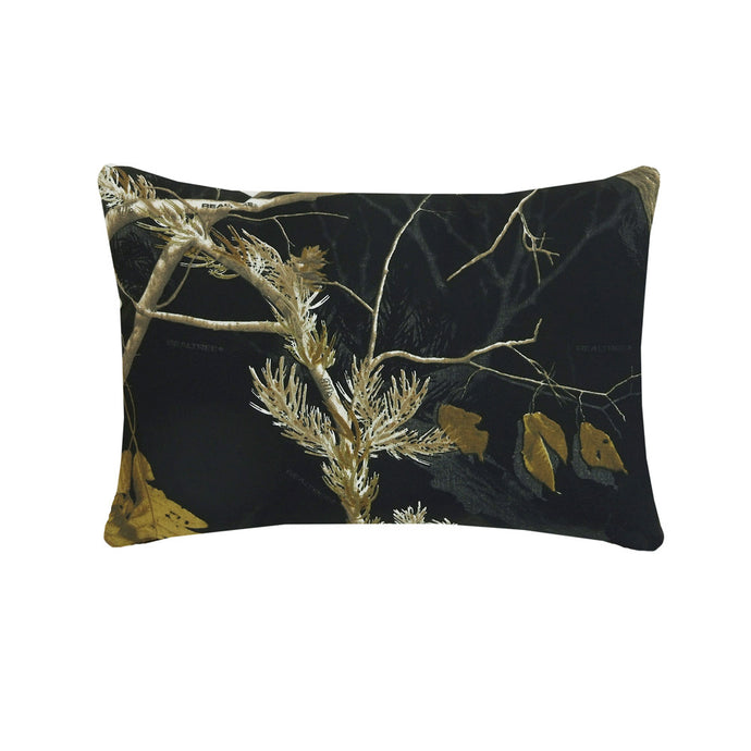 AP All Purpose Camo Black Oblong Pillow - Back40Trading2