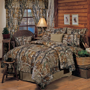 Realtree All Purpose Comforter Set Queen - Back40Trading2