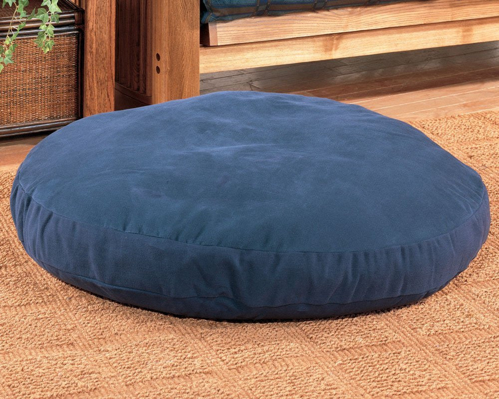 Round Dog Bed - 50 inch - Green - Back40Trading2
