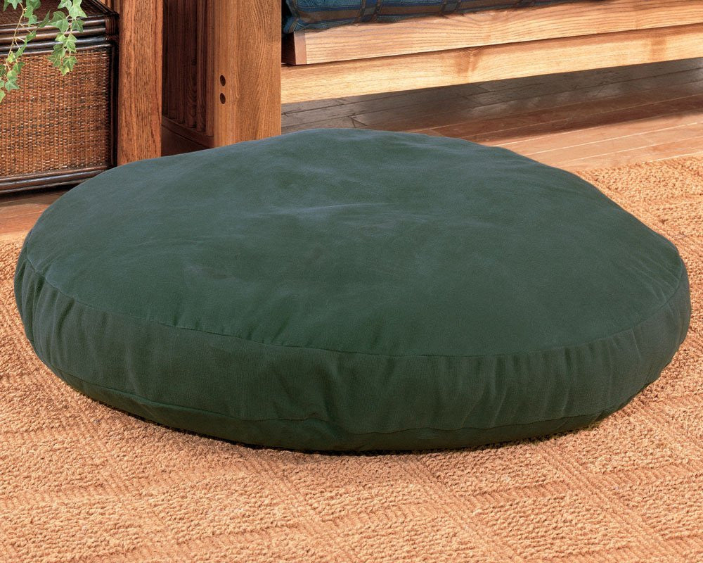 Round Dog Bed - 50 inch - Blue - Back40Trading2