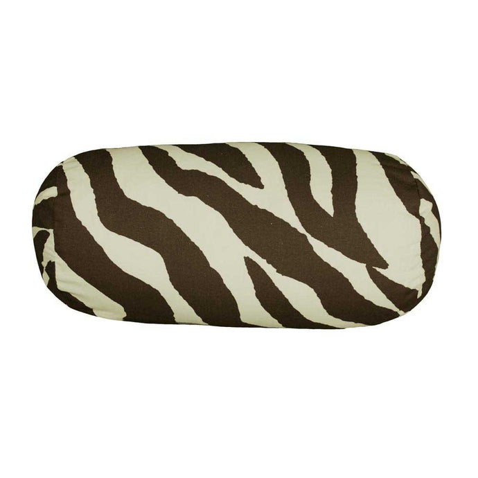 Karin Maki 07152200038KM Brown Zebra Neckroll Pillow - Back40Trading2