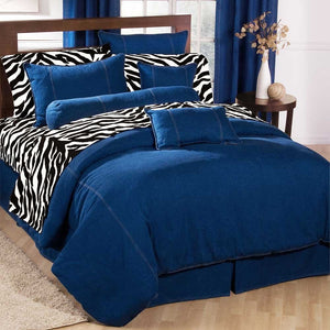 Karin Maki American Denim Duvet Cover Queen - Back40Trading2