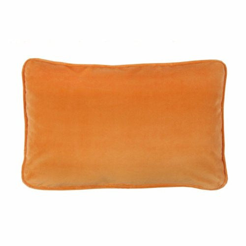 Karin Maki Flower Fantasy Oblong Pillow in Orange - Back40Trading2