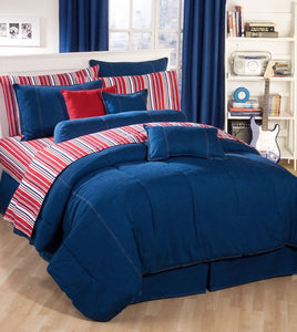 Karin Maki American Denim Comforter California King - Back40Trading2