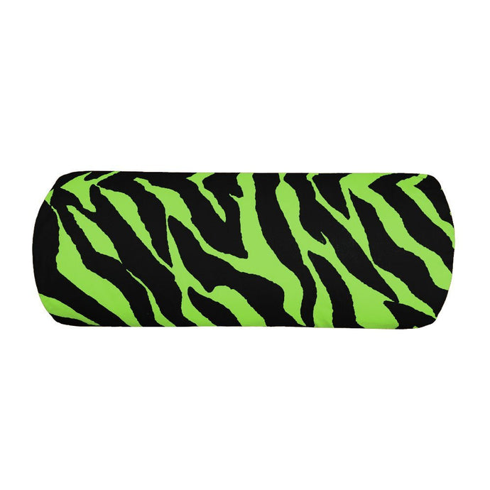 Zebra Lime Bolster Pillow - 9x21 - Back40Trading2