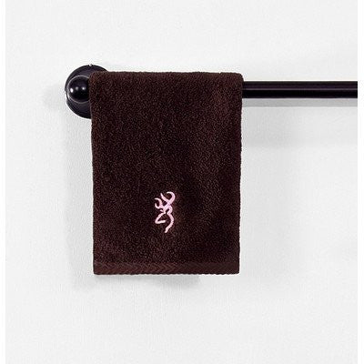 Buckmark Wash Cloth Color: Tan - Back40Trading2