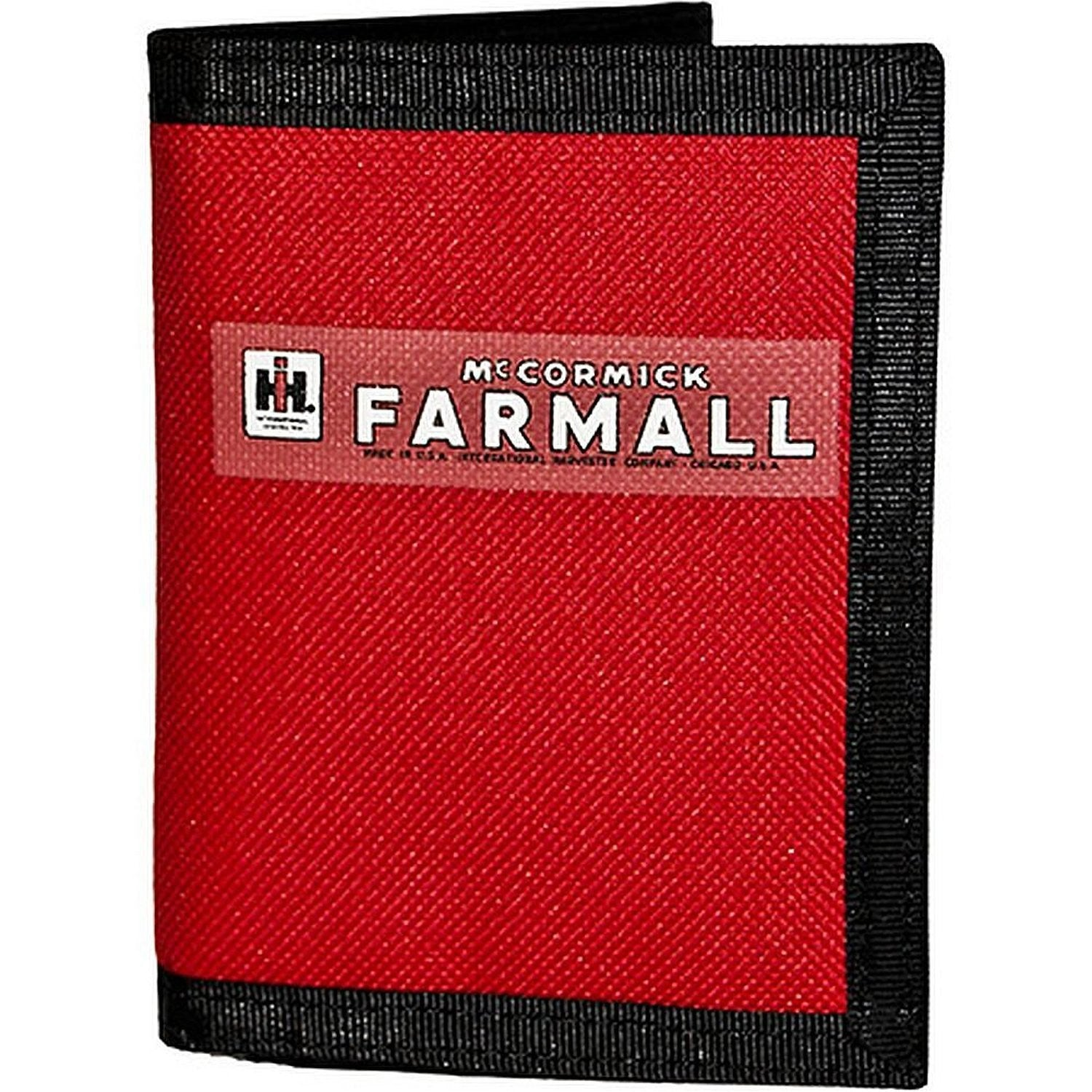 Farmall Red Nylon Trifold Wallet - Back40Trading2