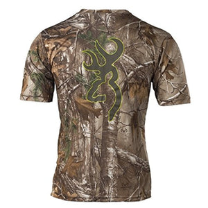 Browning Mens Wasatch Vapor Max Short Sleeve Shirt,Realtree Xtra - Back40Trading2  - 2