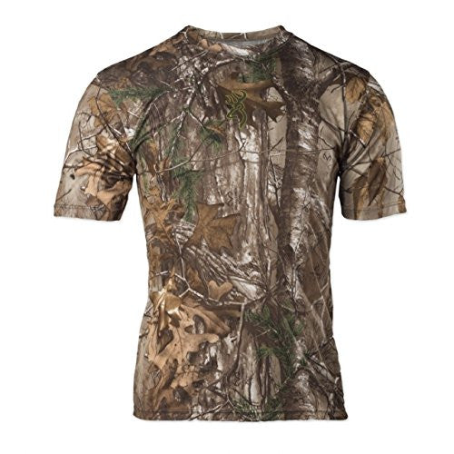 Browning Mens Wasatch Vapor Max Short Sleeve Shirt,Realtree Xtra - Back40Trading2  - 1