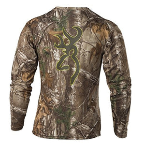 Browning Mens Wasatch Vapor Max Long Sleeve Shirt,Realtree Xtra - Back40Trading2  - 2