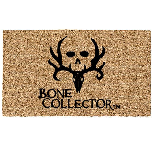 Bone Collector Logo Coir Door Mat Floormat - Back40Trading2