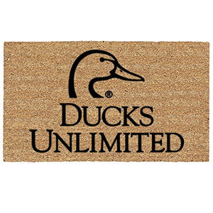 Ducks Unlimited Coir Door Mat Floormat - Back40Trading2